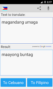 english translate to bisaya dictionary