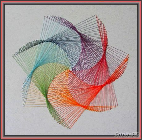 geometric string art patterns pdf