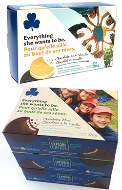 girl guide biscuits history