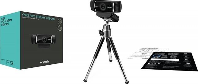 logitech c922 hd pro webcam manual