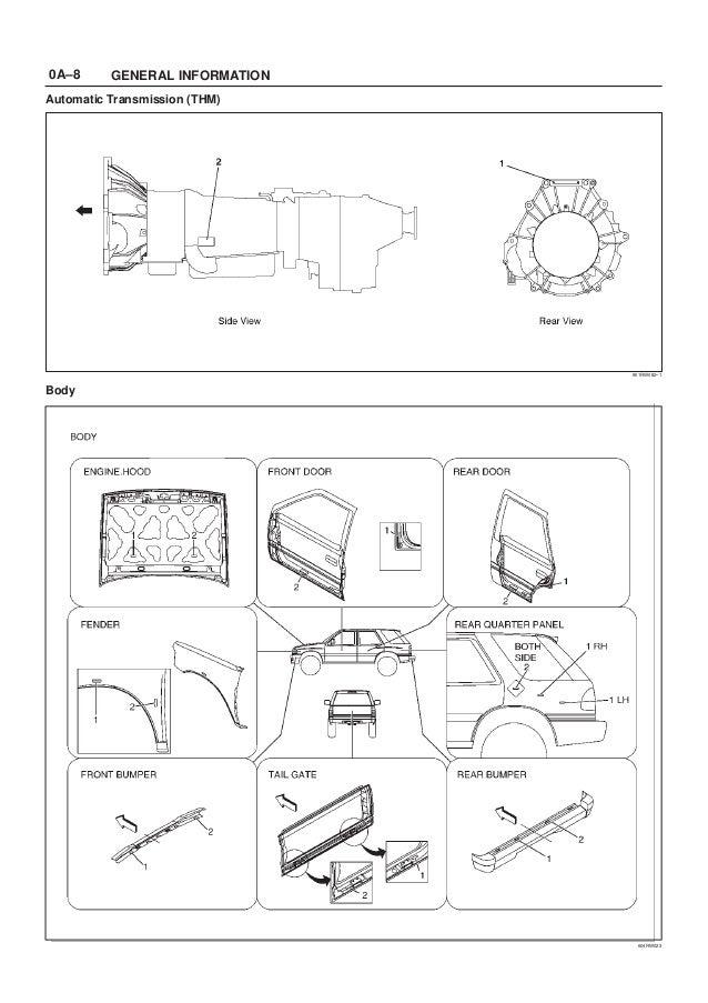 isuzu bighorn workshop manual