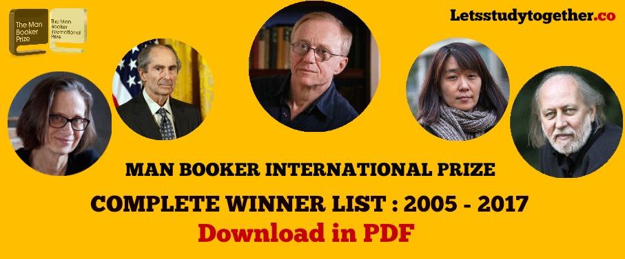 man booker prize winners list pdf