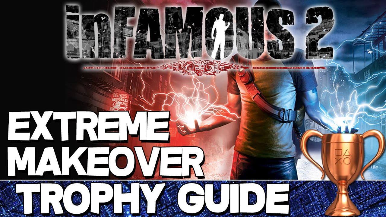 infamous trophy guide