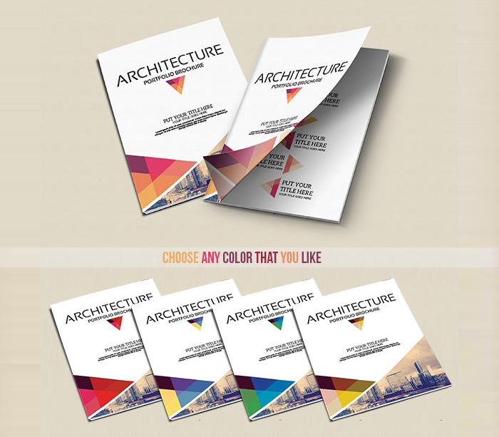 graphic design portfolio pdf template free download