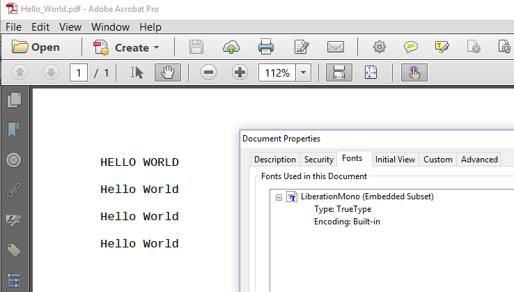 how to get text of a pdf