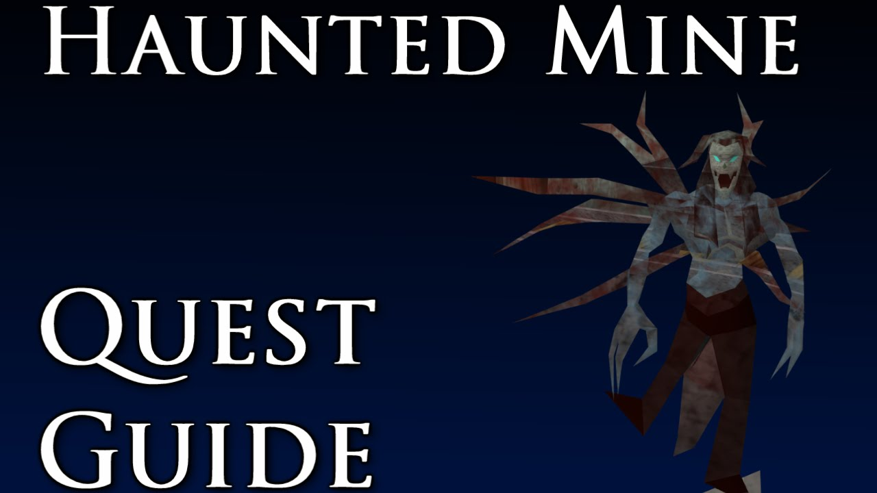haunted mine guide