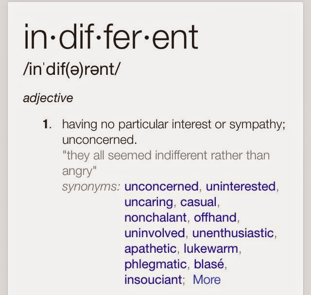 irrelevant synonyms dictionary