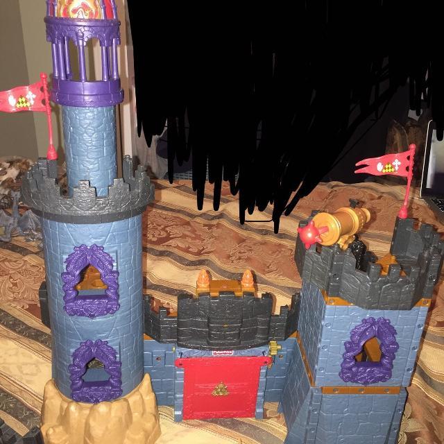 imaginext castle instructions