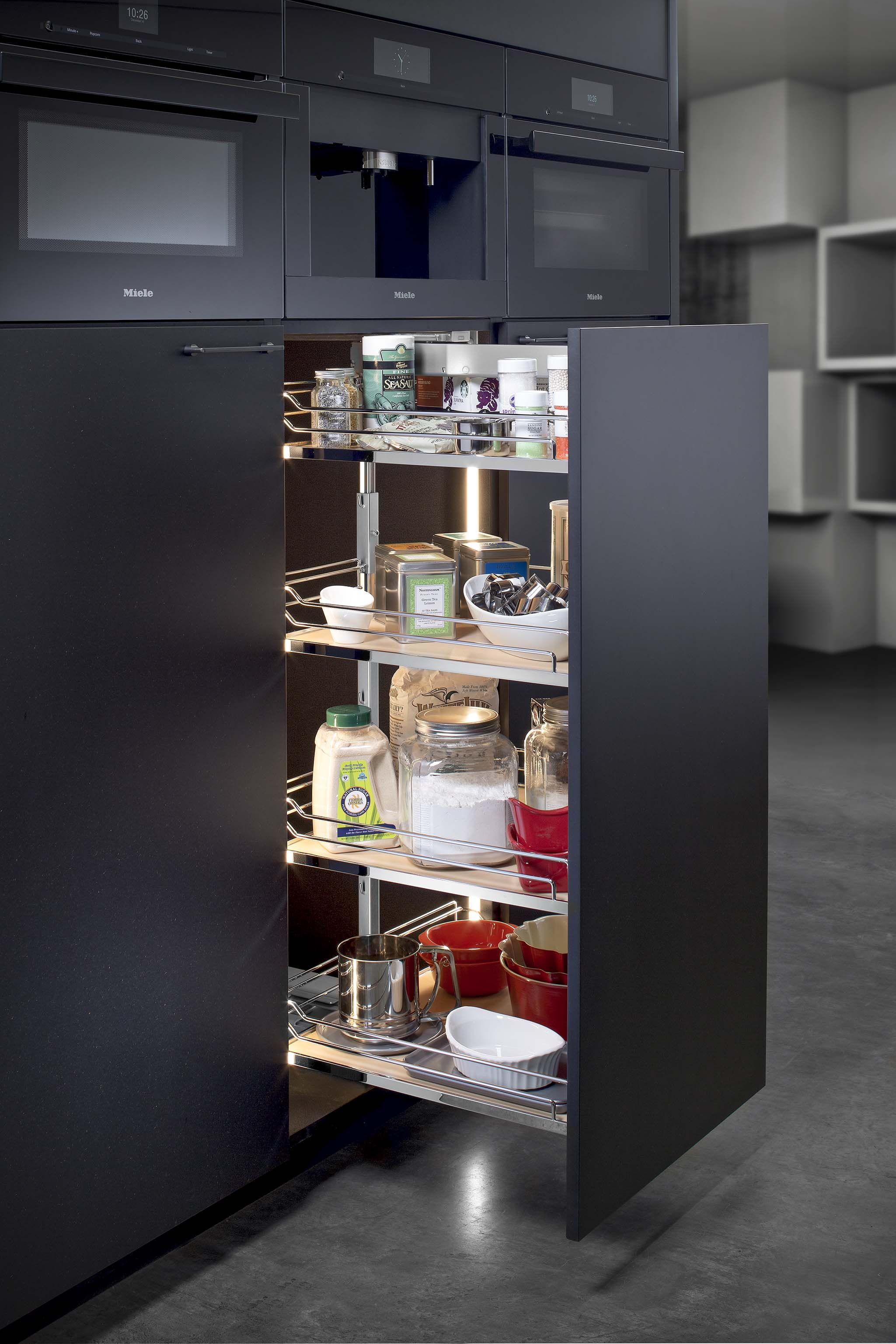hafele pull out larder instructions