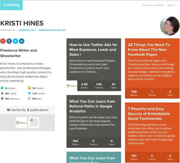 marketing portfolio examples pdf