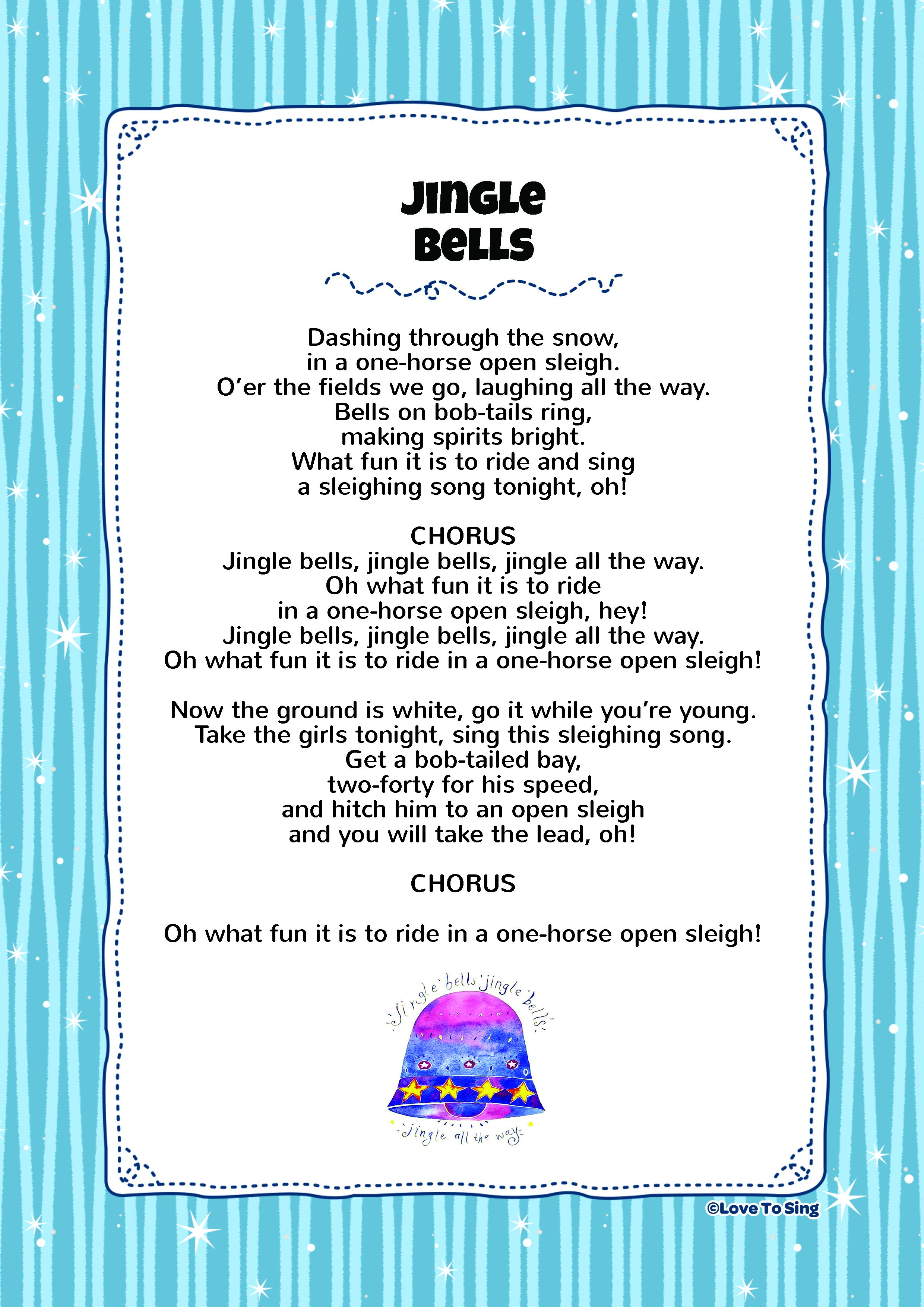 jingle bell rock lyrics pdf