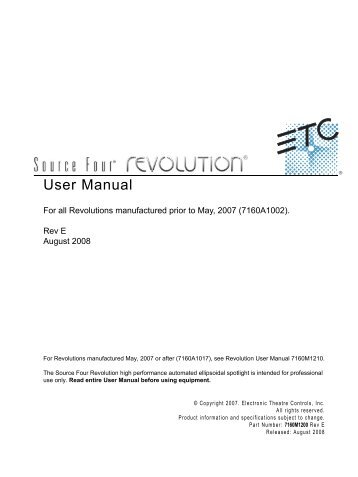 etc source four manual