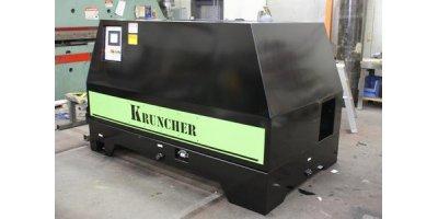 manual oil filter crusher