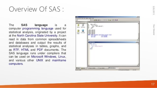 mainframe sas programming tutorial pdf