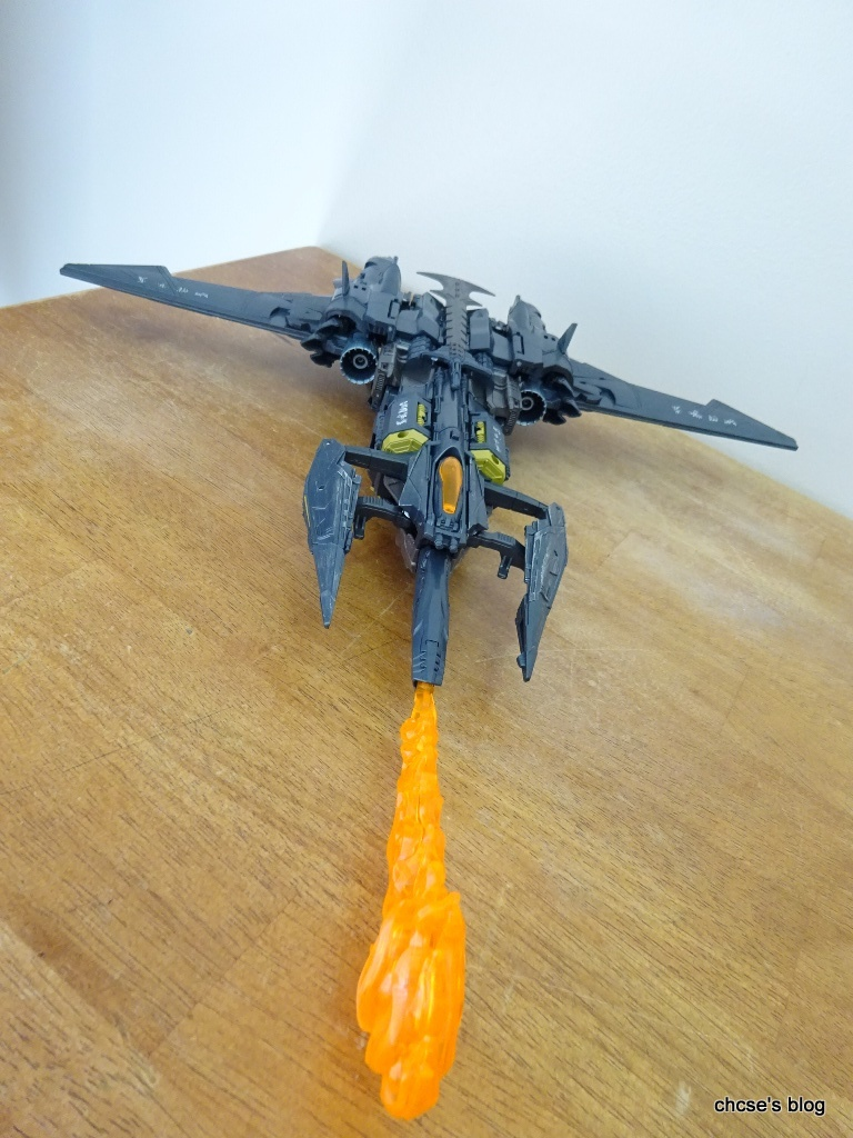 how to transform megatron into a jet instructions