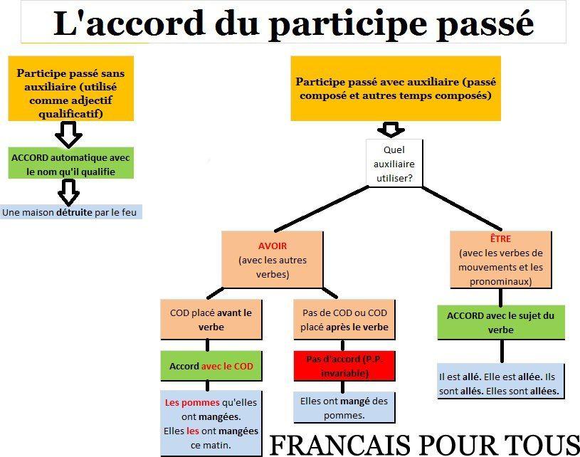 l accord du participe passé pdf