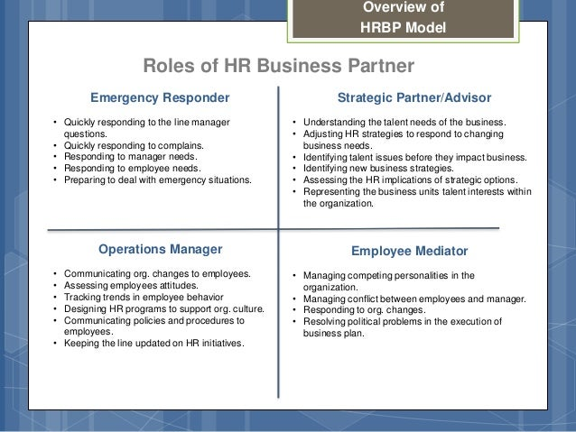 hr roles and responsibilities pdf