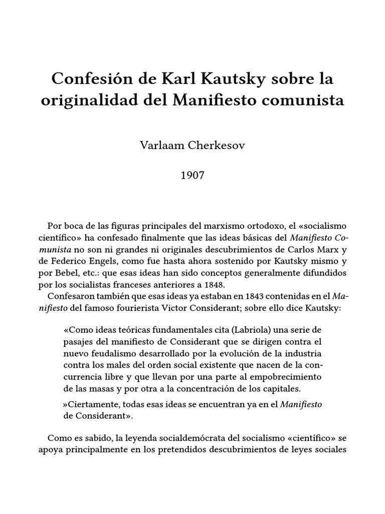 manifiesto comunista pdf