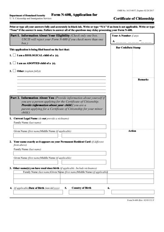 form 600 pdf