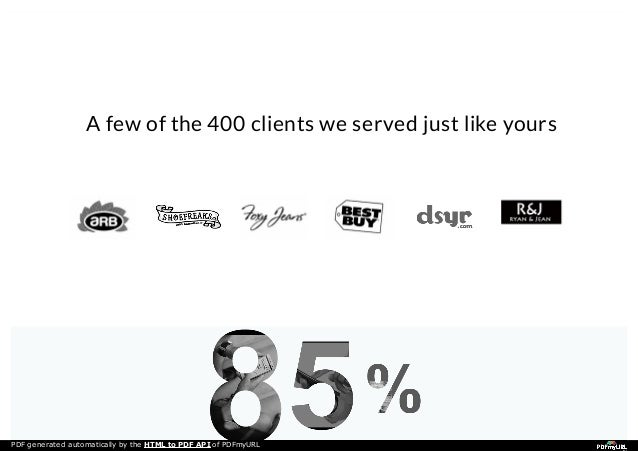 generate a pdf html api