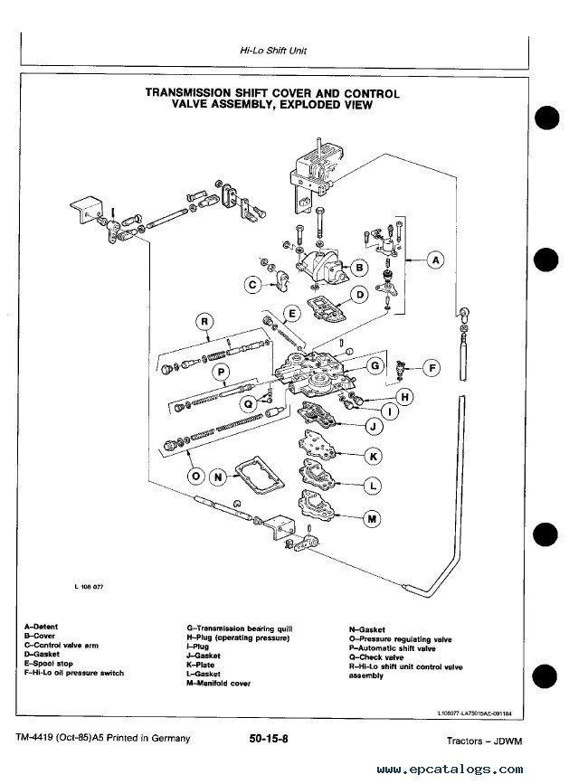 fella disc mower work workshop manual