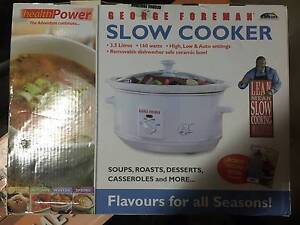 george foreman slow cooker manual
