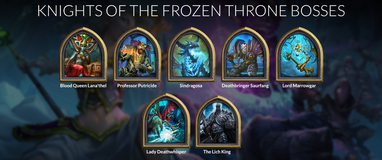hearthstone frozen throne guide lich king