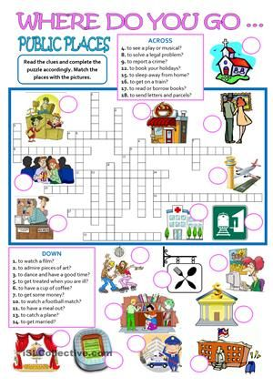 guide around the place crossword