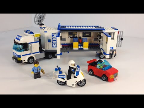 lego police truck instructions 7288