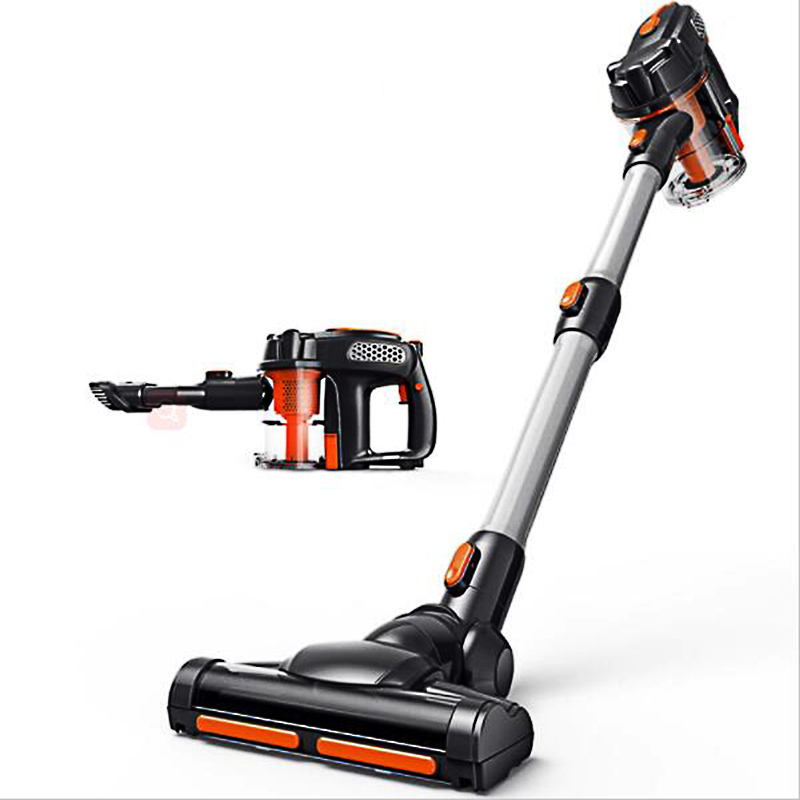 first manual vacuum cleaner