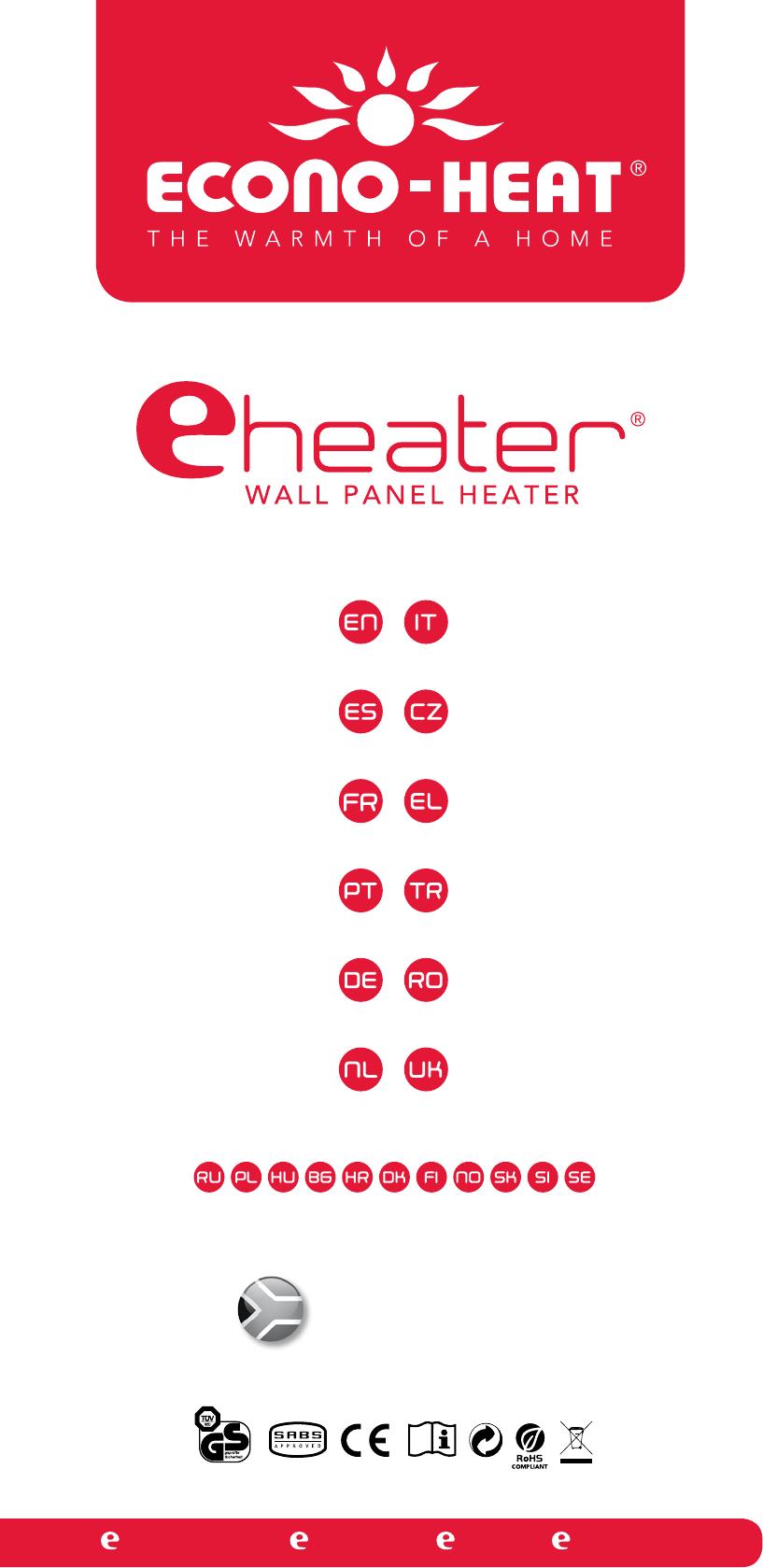 econo heat eheater 0607 instruction manual
