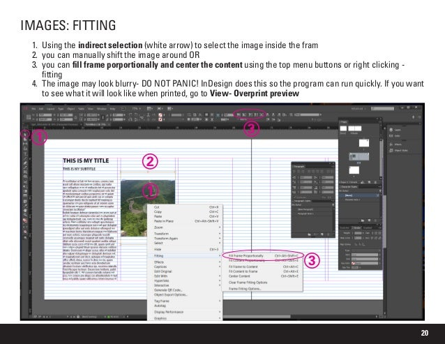 images blurry when export to pdf indesign