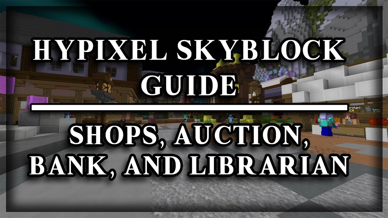 guide for skyblock