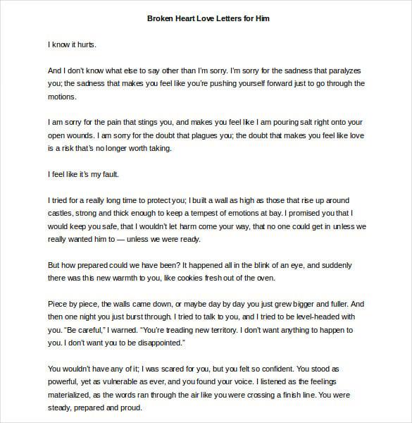 heart touching resignation letter sample