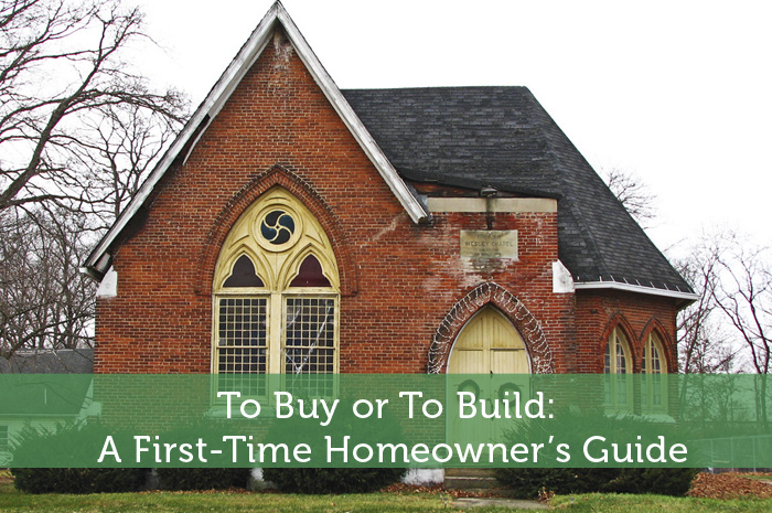 first time home building guide