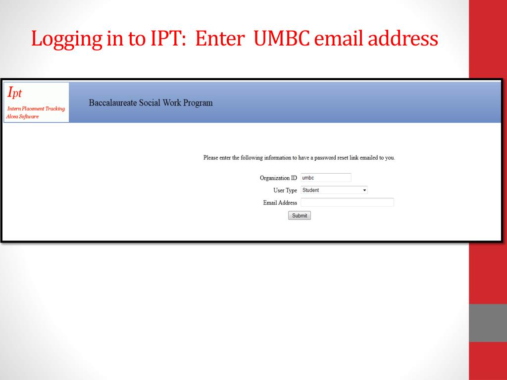 ipt application form