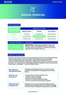 free online manual handling course nz