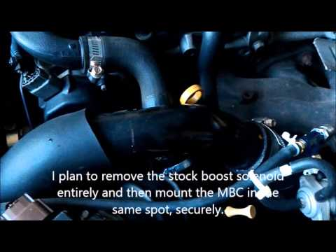 manual boost controller install sr20det