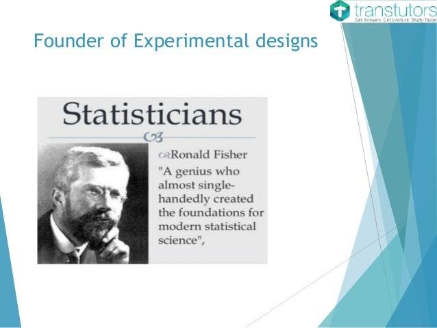 experimental design statistics pdf