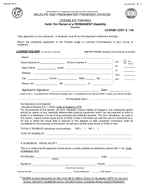 fishing safari application form