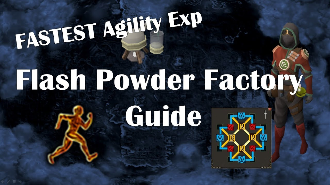 fl ash powder factory minigame guide
