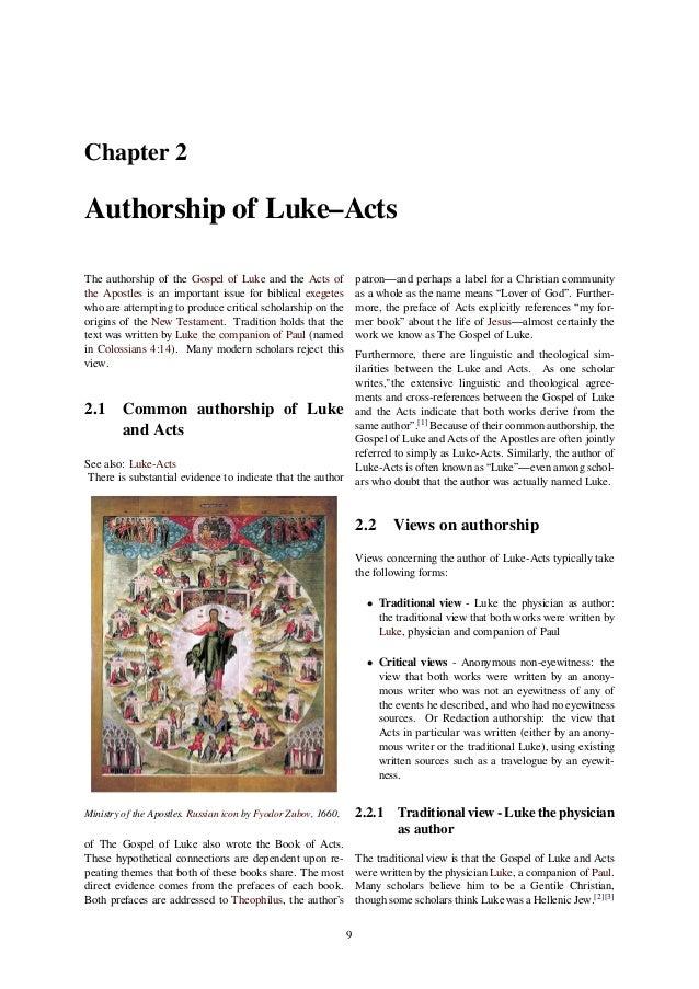 gospel of luke text pdf