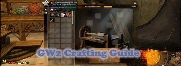 guildwars 2 crafting guide