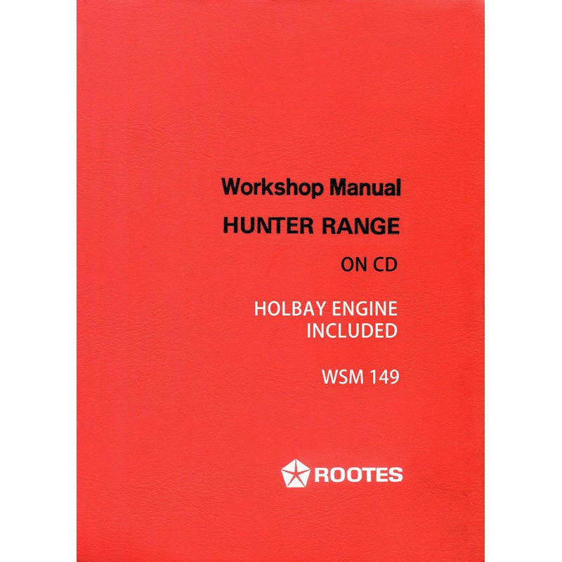 hillman hunter workshop manual
