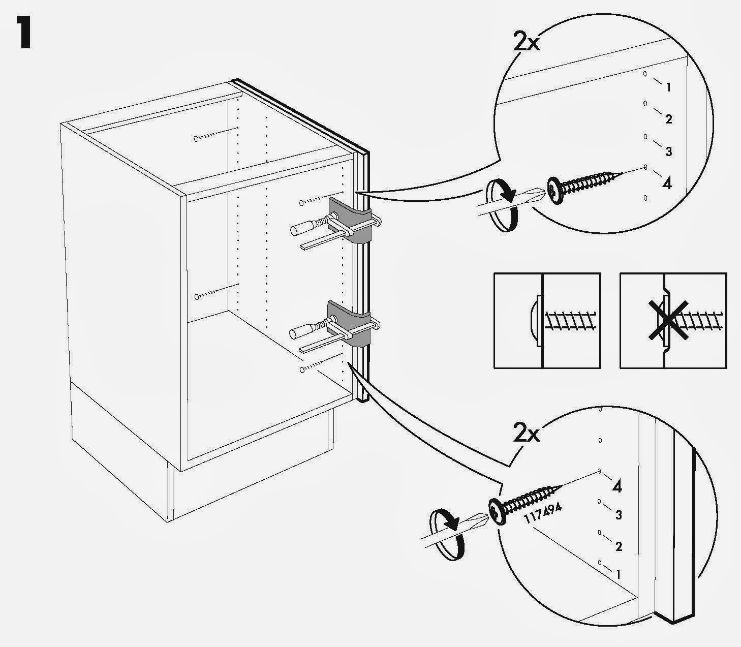 ikea red cabinet assembly instructions
