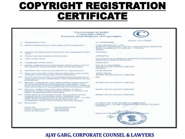 intellectual property rights in india pdf