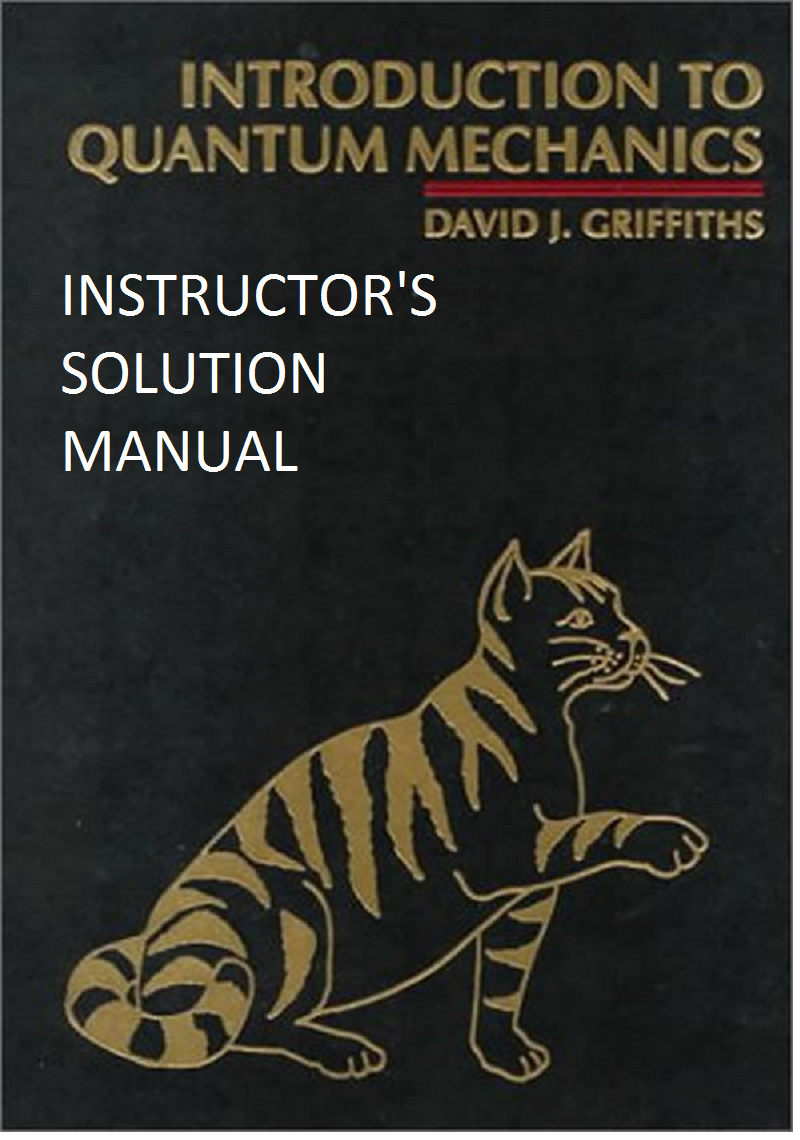 introduction to quantum mechanics by david griffiths 3rd edition pdf