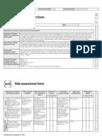 iosh risk assessment form pdf