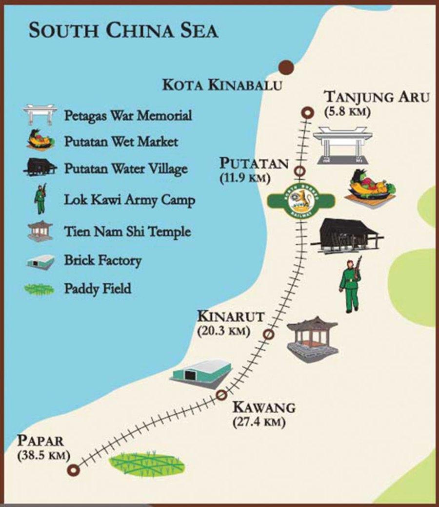 kota kinabalu map pdf