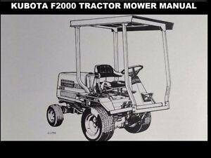 kubota g1800 manual
